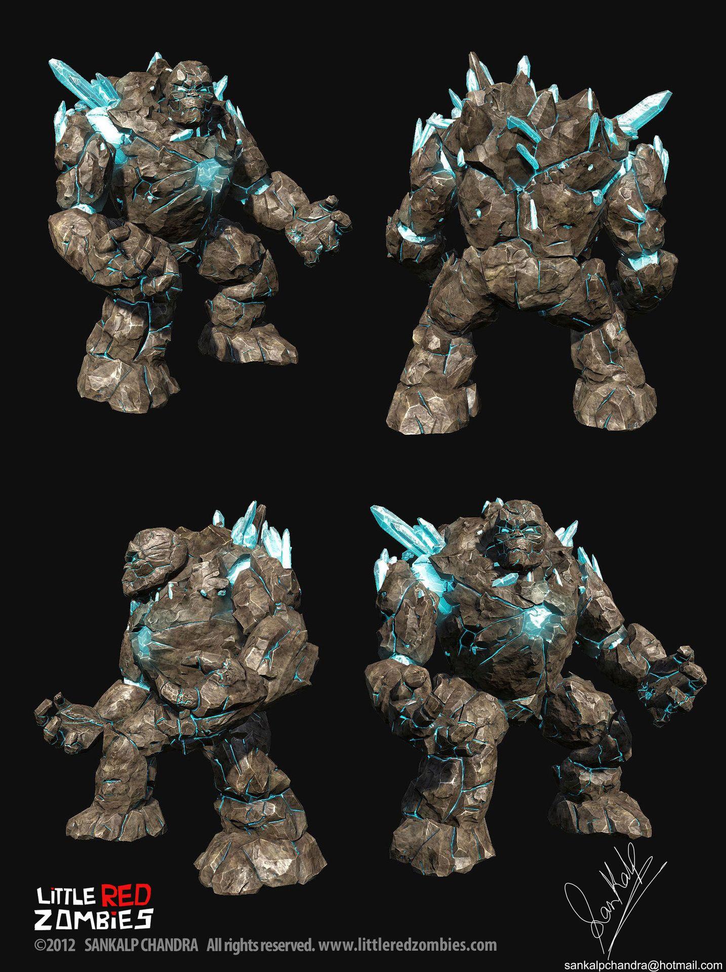 13 Rock Golem Concept Art Ideas Concept Art Art Creature Design