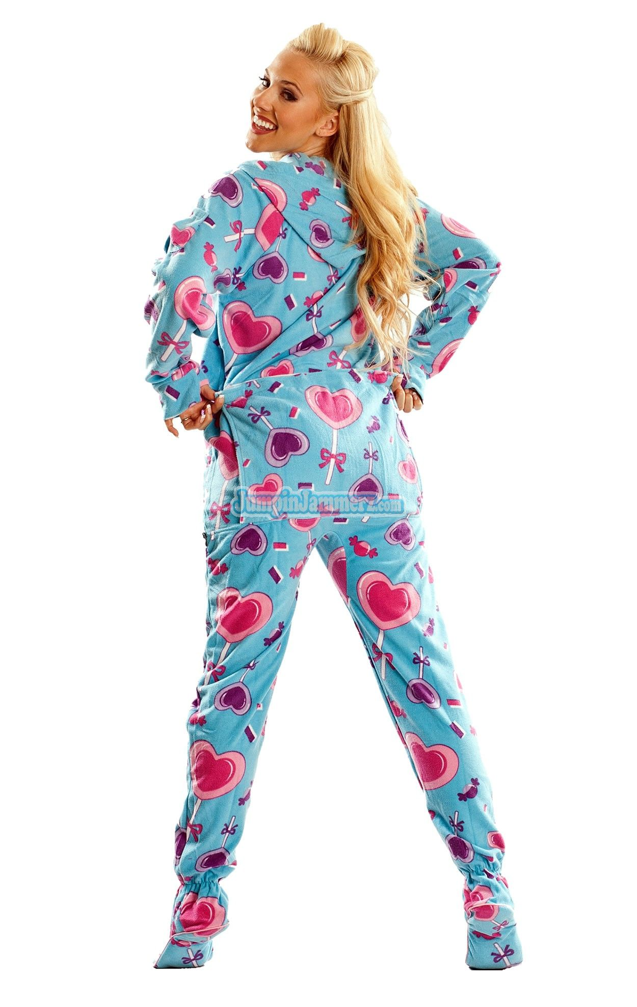 a01dffa9a Frosty Flakes Hooded Footed Pajamas Pajamas Footie PJs