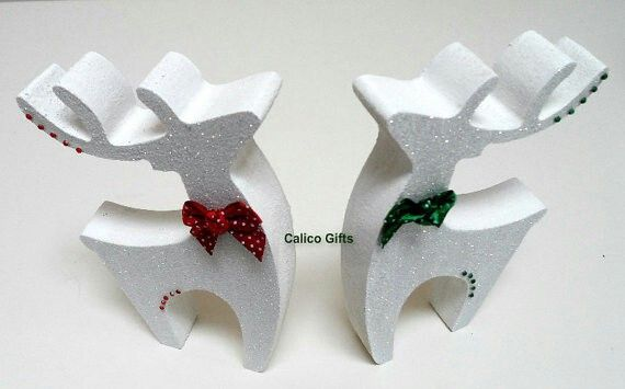 sparkly reindeer