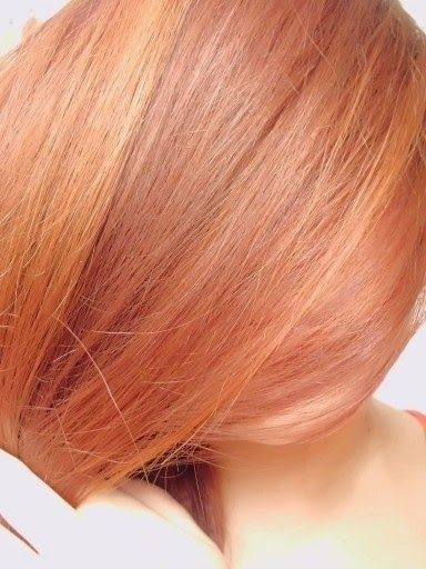 how to get orange hair blonde