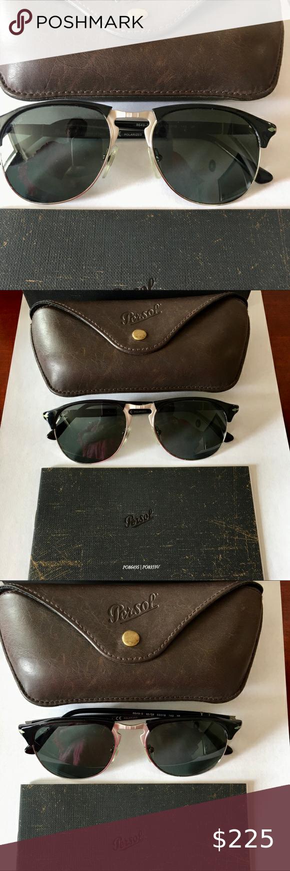 Authentic luxury men's sunglasses Persol Authentic