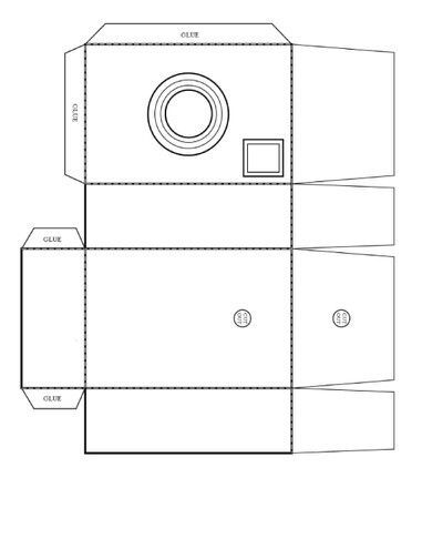 Tutos Cameras Pinterest Paper Paper Crafts And Templates