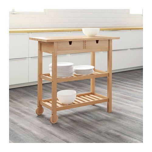 F rh ja desserte bouleau r novation salle de bain rangement ouvert ikea et r novation - Ikea desserte cuisine ...