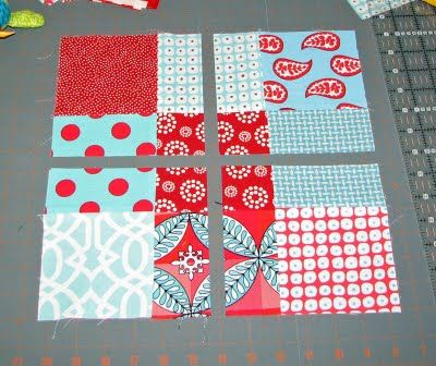 disappearing 9 patch quilt block pattern