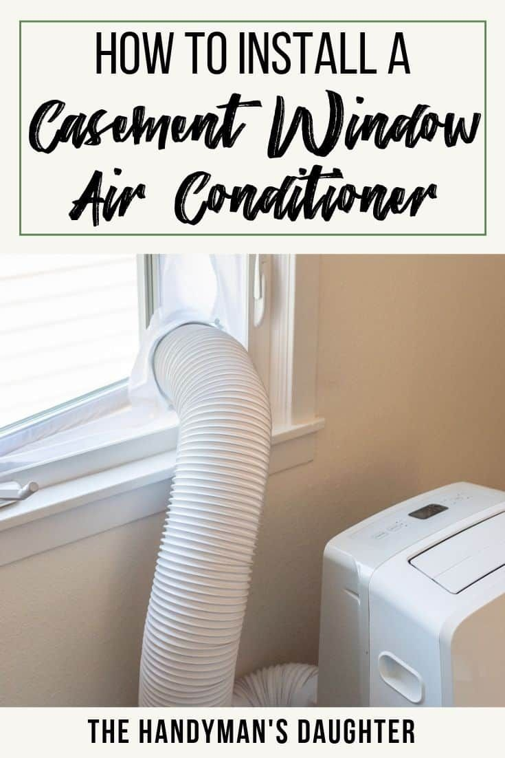 how to install a portable air conditioner without a window