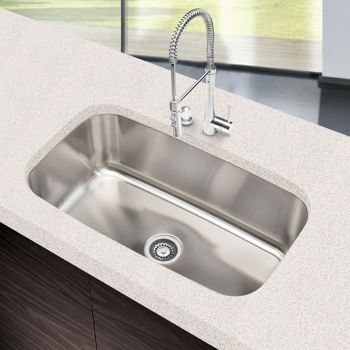 Clark Stainless Steel Extra Large Single Bowl Sink 169 Single Bowl Kitchen Sink Single Bowl Sink Large Kitchen Sinks