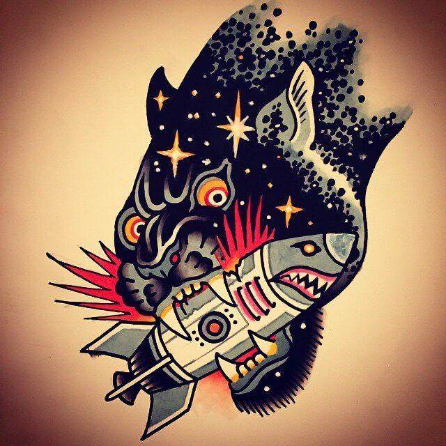 Ian Bederman Tattoo