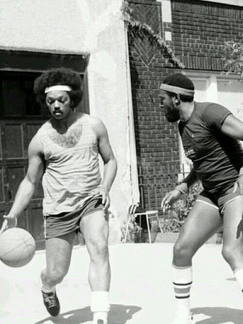 Jesse Jackson & Marvin Gaye, 1976