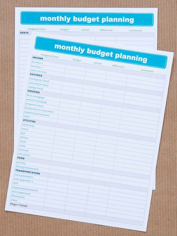 We Heart Organizing Get Organized with Free Charts Chart