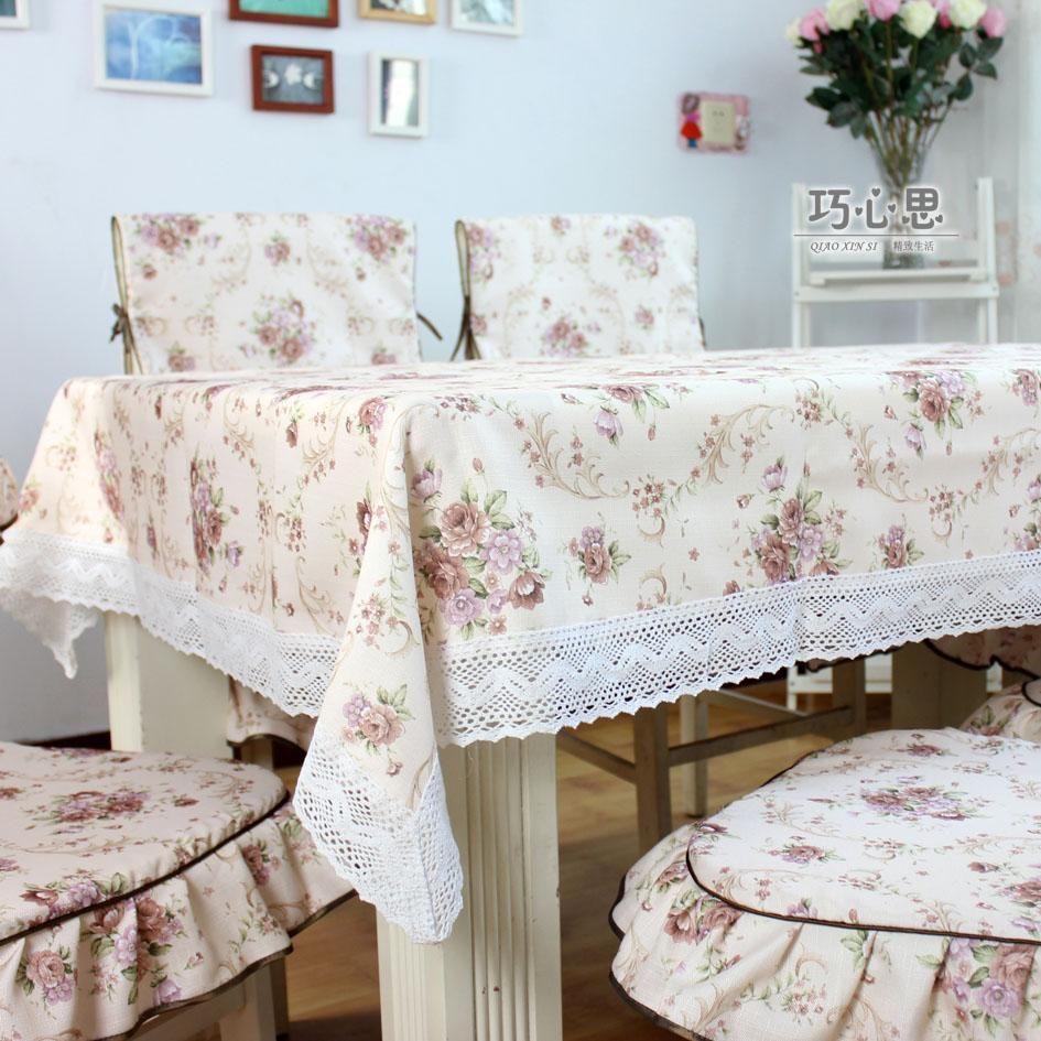 Dining Table Cloth Chair Cover Cushion Chair Pad Tablecloth Multi