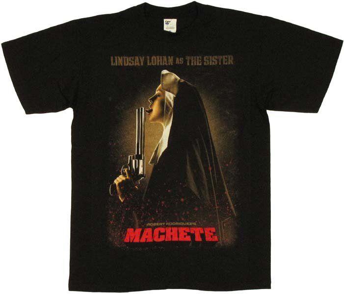 T-Shirt Machete Lindsay Lohan The Sister - Films/Machete - Logostore