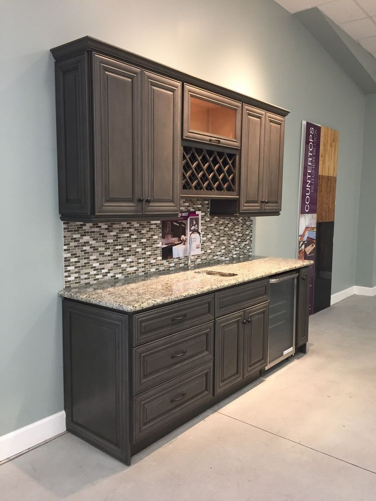 Kensington Kitchen Cabinets: Kensington Mist Raised Panel Full ...