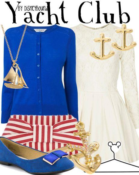 Fashion week Inspiration: Fashion disney yacht club resort for woman