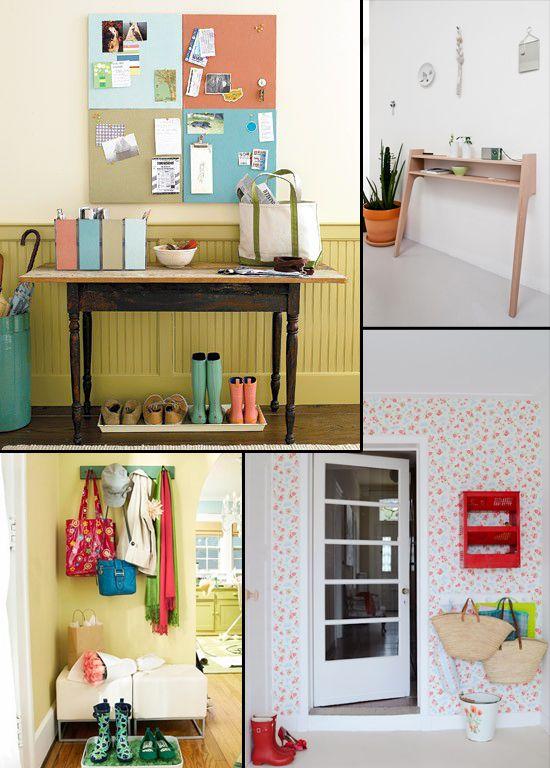 Ideas para organizar la entrada de la casa | Organizar la casa ...