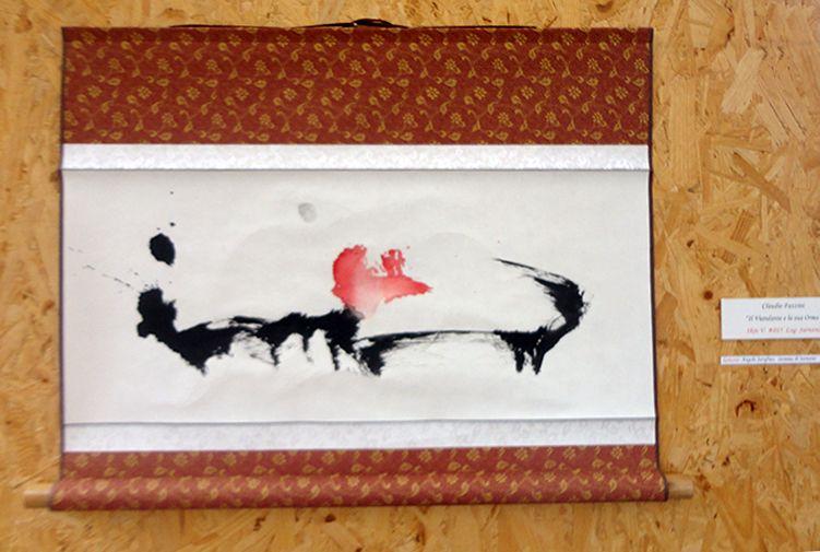 """Mostra di pittura """"il Viandante e la sua Orma"""" a cura di Claudio Fazzini, Contea dei Ciliegi, Marche"""