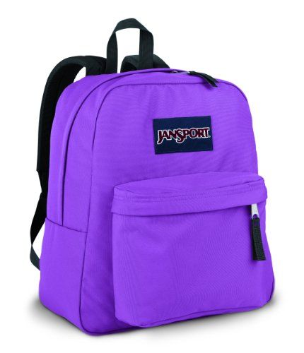 JanSport Spring Break     A slightly smaller version of the classic  SuperBreak pack. Straight cut 59d0f80dd8bcc