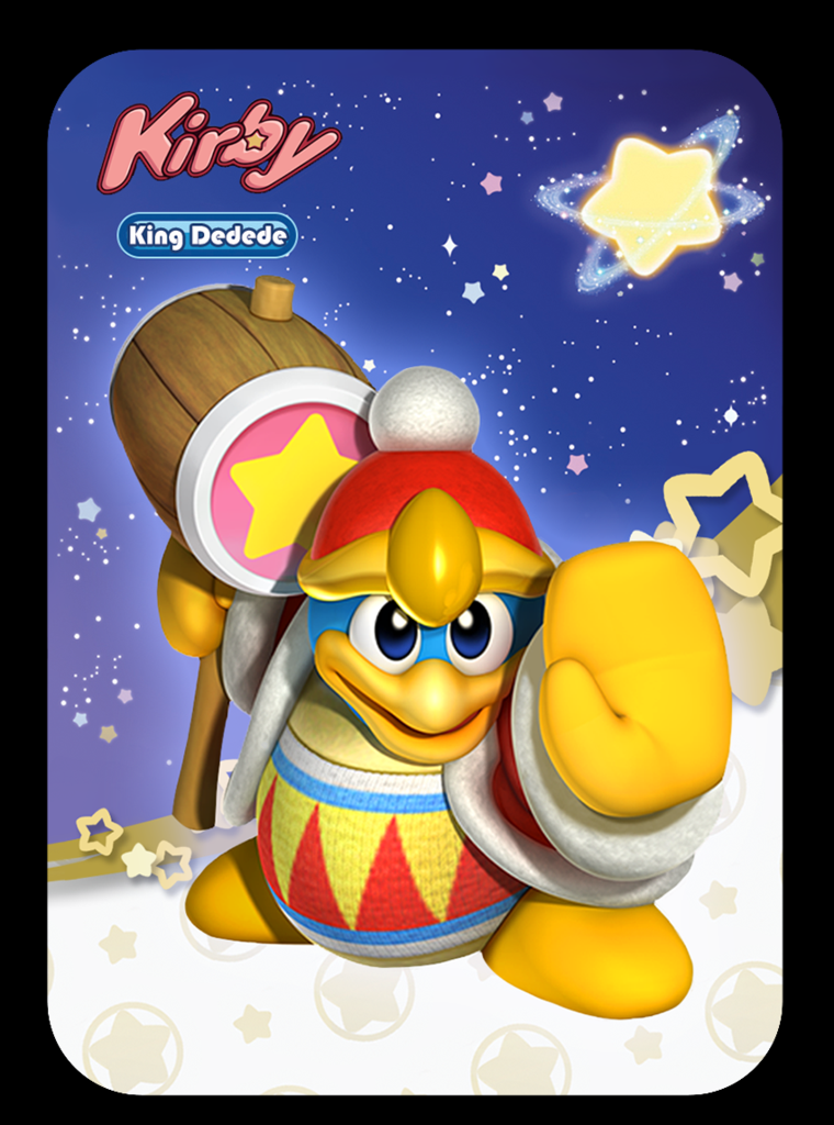 Kirby Amiibo Cards Full Set Of 4 Or Singles Cool Amiibo Stuff