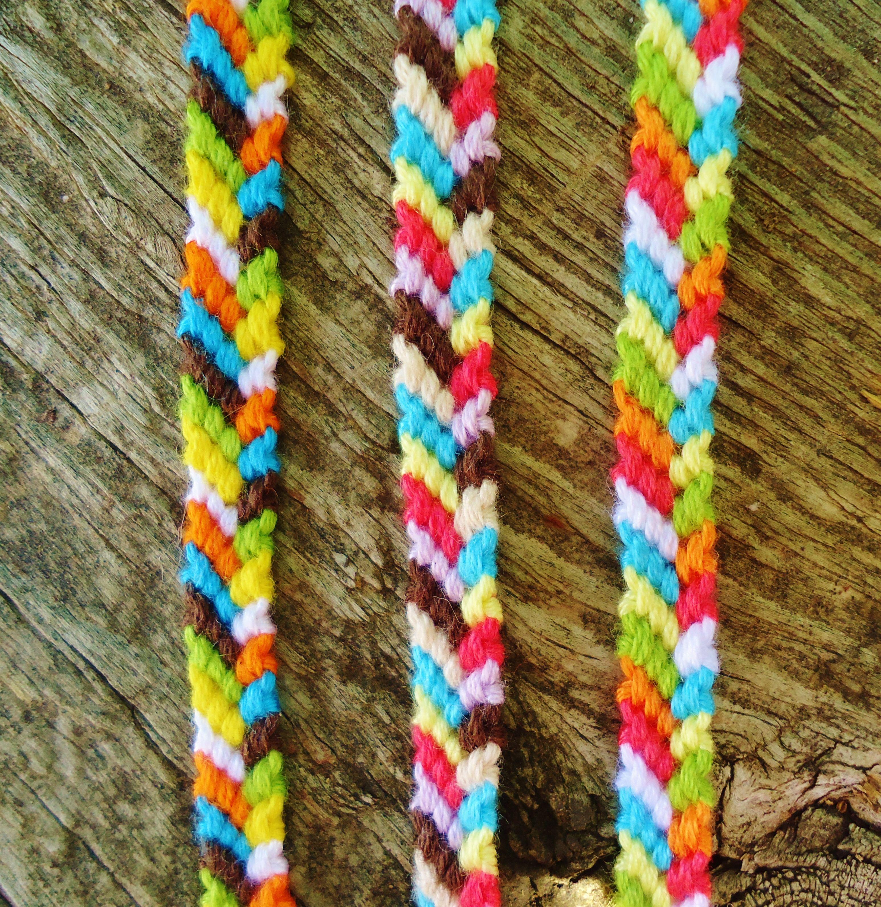 Beach Path Pattern Friendship Bracelets