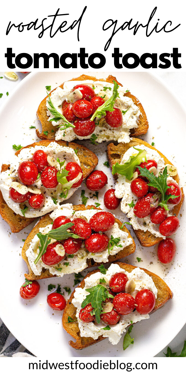 Roasted Tomato Toast With Ricotta Recipe Roasted Tomatoes Brunch Recipes Food