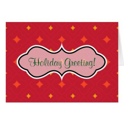 Create Your Own Christmas Patterned Holiday Card  Christmas Cards