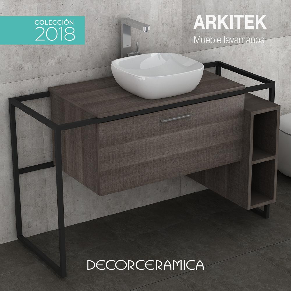 Con La Combinaci N Del Industrial Look Y El Wood Style Llega La  # Muebles De Bano Look