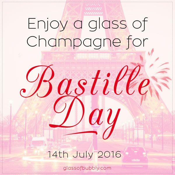 Enjoy a Glass of #Champagne for #BastilleDay
