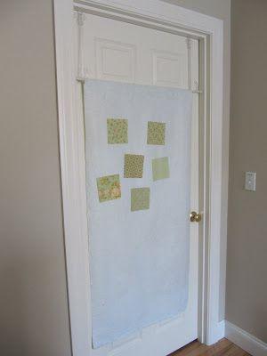 easy door design wall leuk idee! Deze is saai, maar ik kan vast een leukere maken.