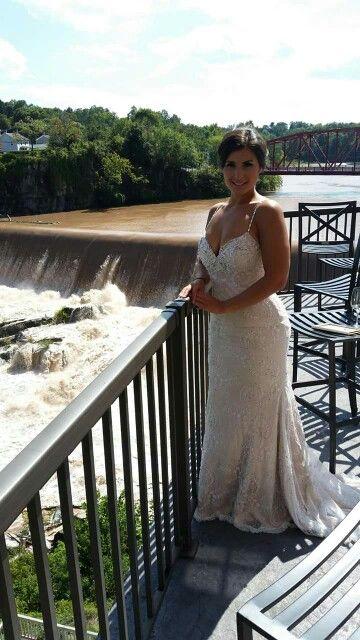 Marisa wedding gown style 111, courtesy of Chamonix Bridals ...