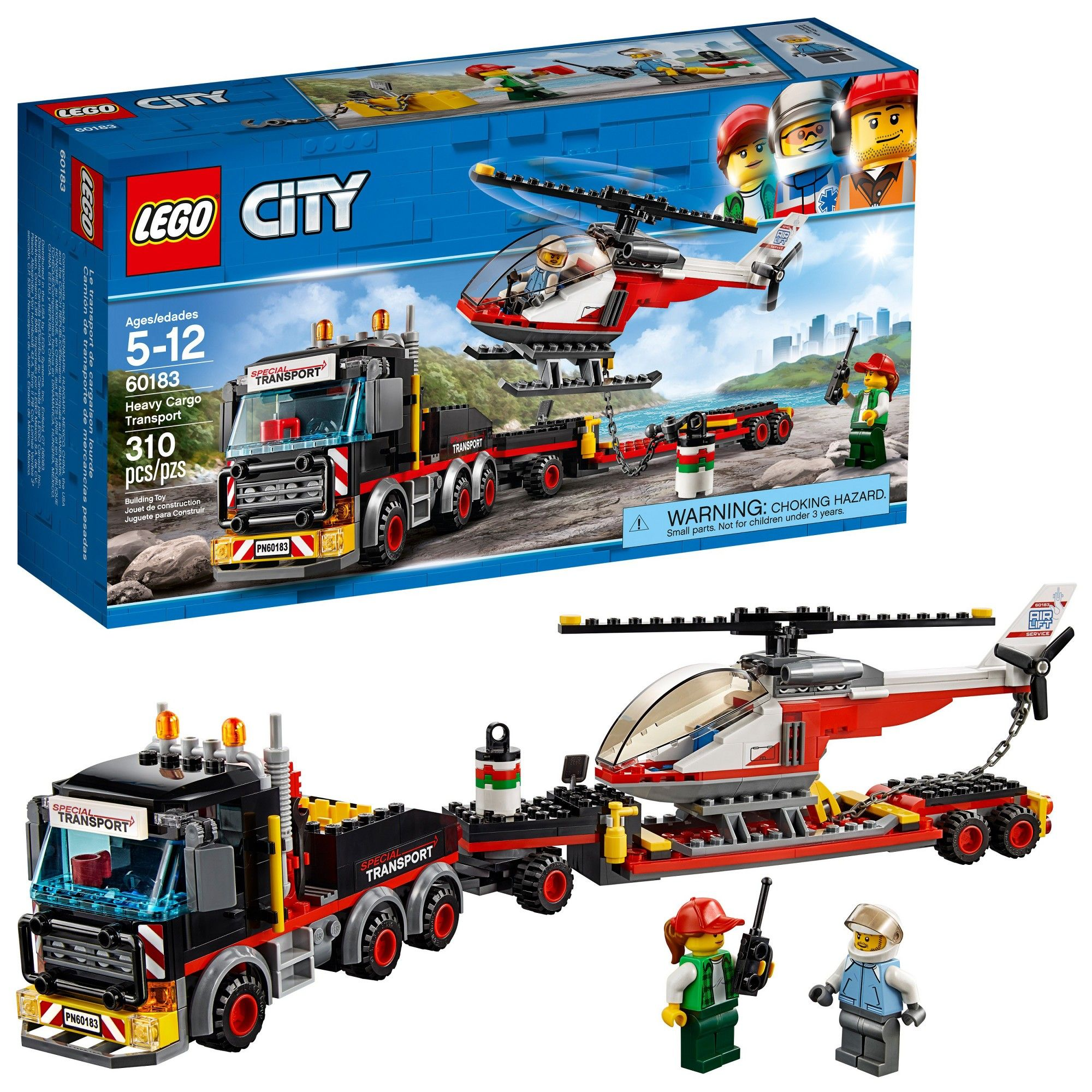 Lego City Great Vehicles Heavy Cargo Transport 60183 Products Snap Circuitsr Deluxe Sound Light Combo Walmartcom