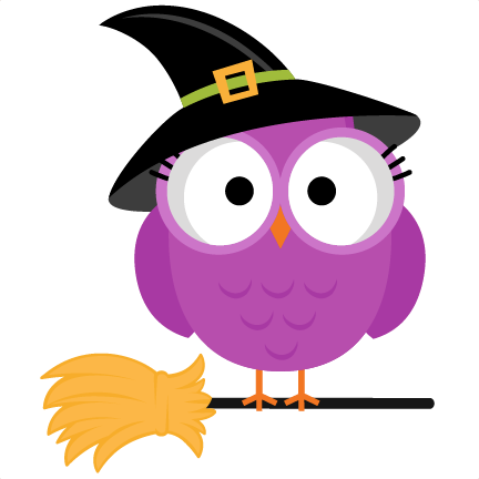 halloween witch owl svg scrapbook cut file cute clipart files for silhouette cricut pazzles free svgs - Cute Halloween Witches