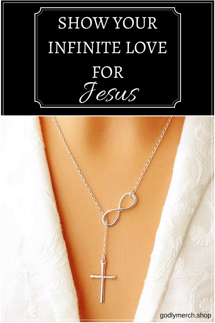 Infinity love cross necklace show your infinite love for god with infinity love cross necklace show your infinite love for god with this elegant cross necklace simple beautiful an upgrade your look with meaning aloadofball Choice Image