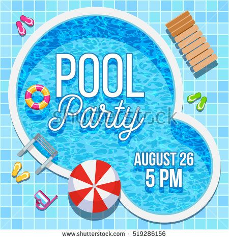 Image Result For Swimming Pool Party  MayaS Party