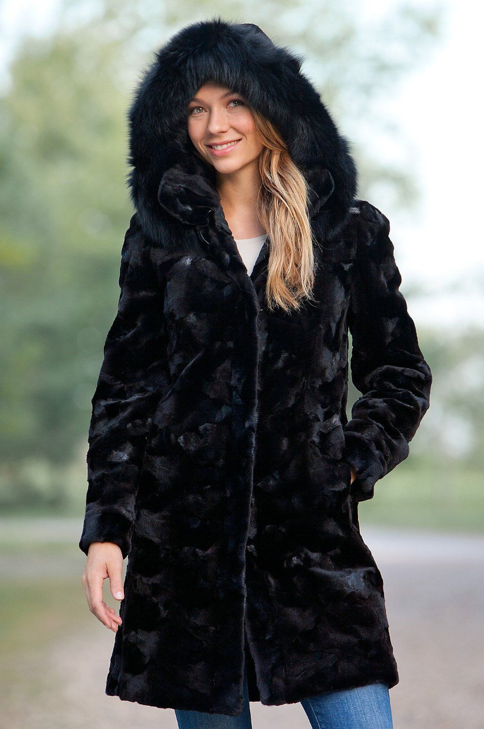 Amazing Winter Jackets for Women : Fabric Material For Winter ...