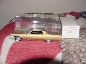 1965 Cadillac Coupe Deville 2 Door Ht promo model