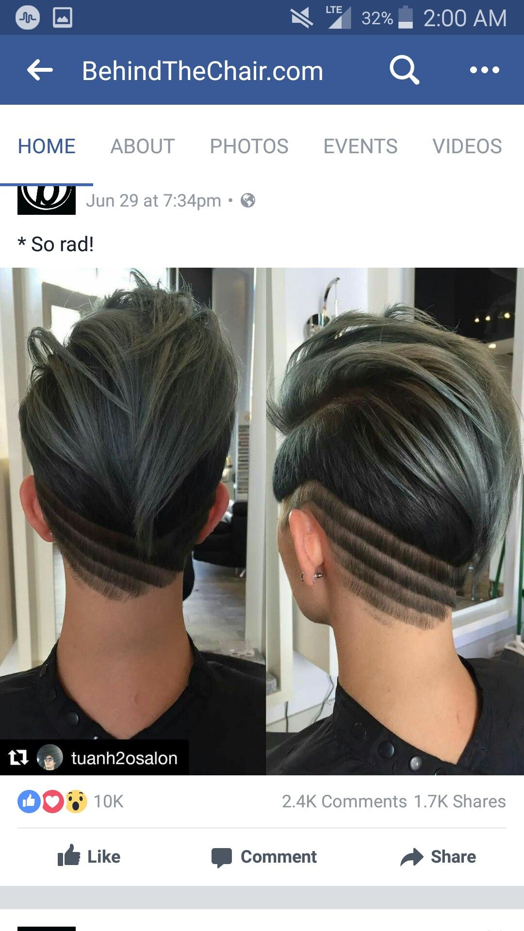 Pin by Veronica Holt on Shaved Hairstyles Pinterest