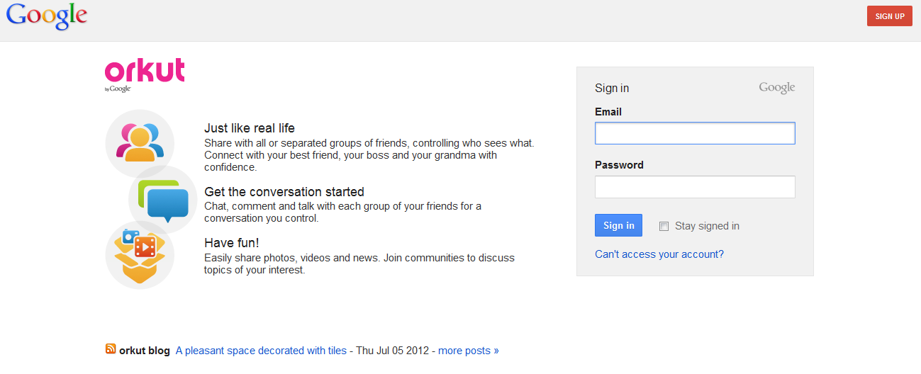 Orkut Login Help And Troubleshooting How To Start Conversations