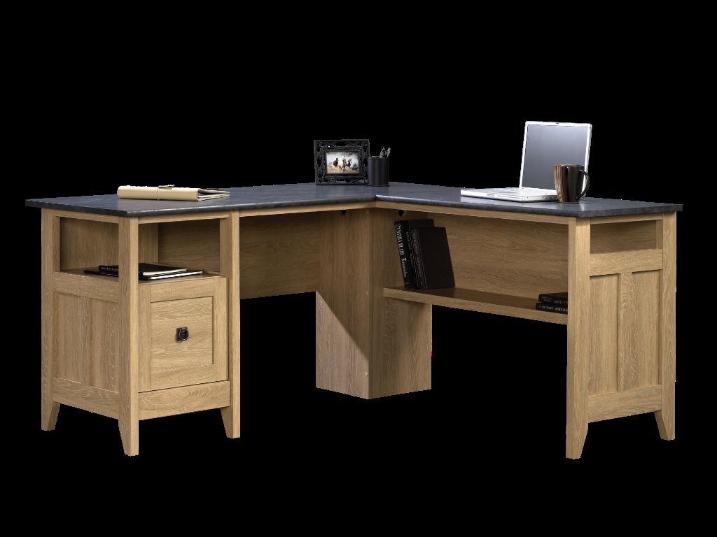 Sauder Office Port Executive Desk Dark Alder Item 1366480