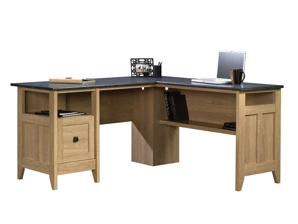 L Shaped Desk By Sauder Woodworking