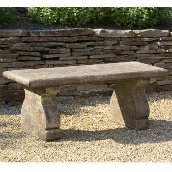 Panche In Pietra Da Giardino.Provincial Cast Stone Bench Stone Bench Garden Benches