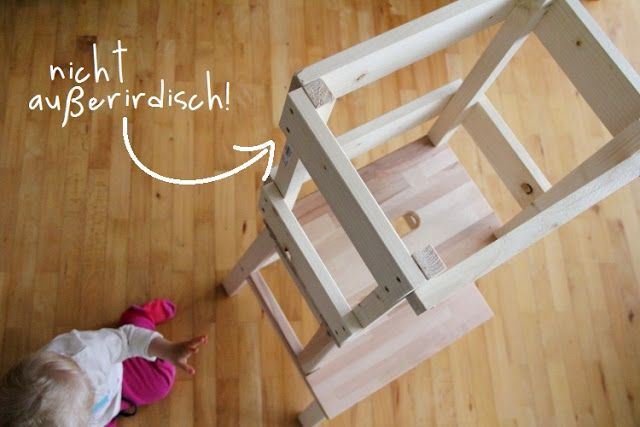 Ikea Kinderspielzeug Küche Diy Learning Tower Using An Ikea Stool | Eltern Vom Mars
