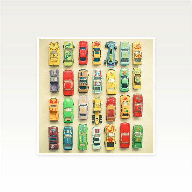 Car Art for Boys Room, Nursery Art, Childrens Wall Art, Kids Decor ...