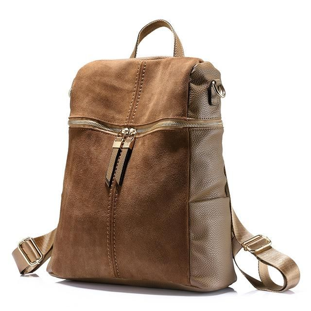 d3b341a4e5 Vintage Style Nubuck Backpack