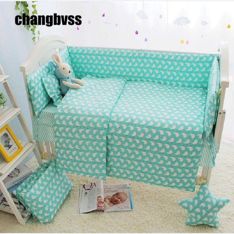Summer Fresh Design Baby Crib Bedding Set For Boy Girl, Green Baby ... : cheap baby quilts - Adamdwight.com
