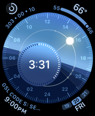 The new Solar Dial face, explained AppleWatch Solar
