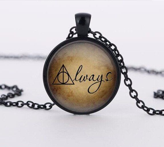 Harry Potter Inspired  Always Necklace