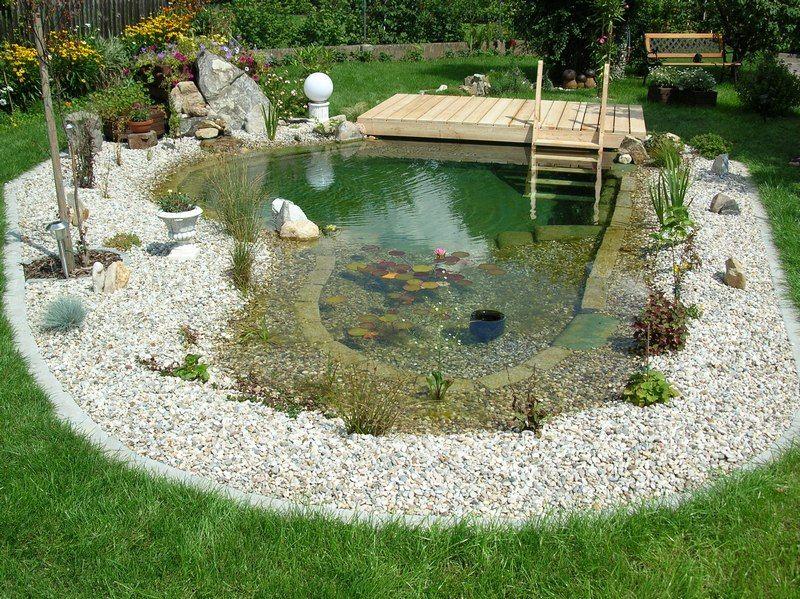 Fabulous Schwimmteich Fotos, Schwimmteich Bilder, Gartenteich Bilder  LT09