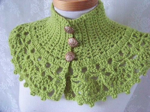 Lacey Capelet pattern by Beth Todd   cestitke   Pinterest ...