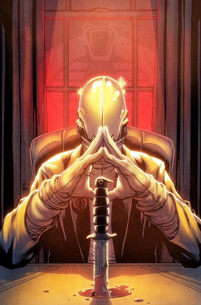 Cobra Commander by Zach Howard by RyanLord on DeviantArt