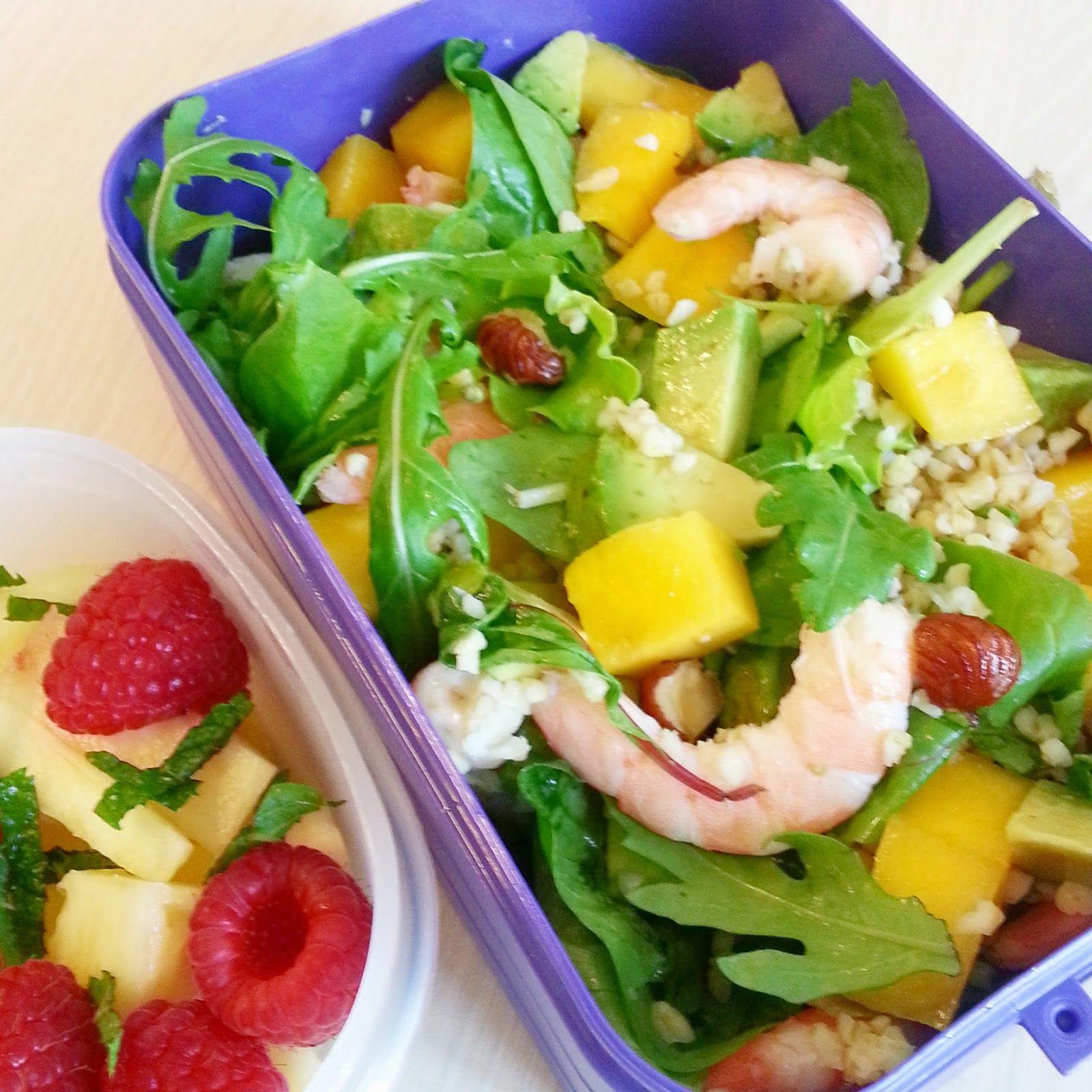 Les p'tits plaisirs d'Emma: Dans ma lunchbox 4 - Salade estivale