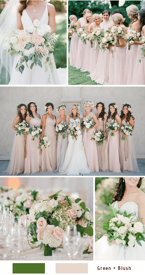 Top 10 Bush Pink Wedding Color Ideas for Spring 2021 in